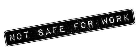 censure: Not safe for work rubber stamp on white. Print, impress, overprint.