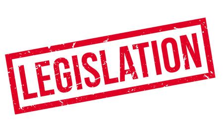 legislation: Legislation rubber stamp on white. Print, impress, overprint.