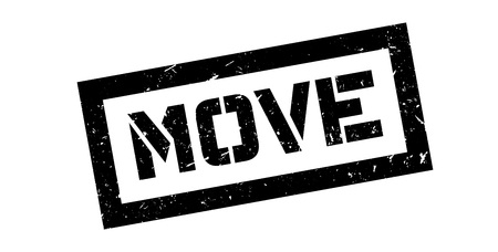 onwards: Move rubber stamp on white. Print, impress, overprint.