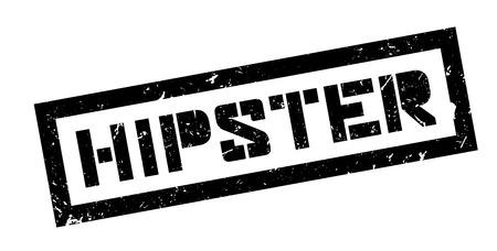 estereotipo: Inconformista, sello de goma en blanco. Imprimir, impresionar, sobreimpresión.