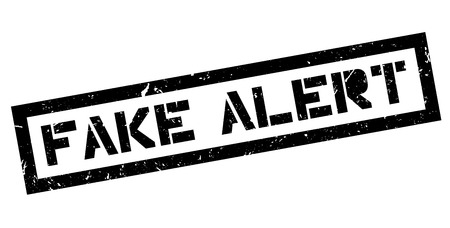 bogus: Fake Alert rubber stamp on white. Print, impress, overprint.
