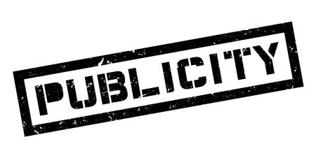 Publicity rubber stamp on white. Print, impress, overprint. Vektoros illusztráció