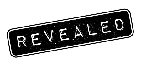 confess: Revealed rubber stamp on white. Print, impress, overprint. Illustration