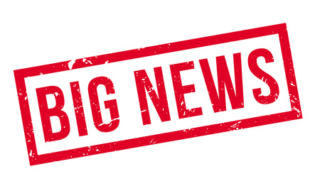 full disclosure: Big news rubber stamp on white. Print, impress, overprint. Illustration