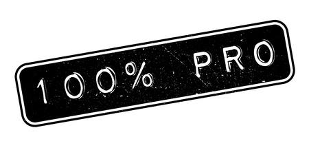 talented: 100 percent pro rubber stamp on white. Print, impress, overprint. Illustration