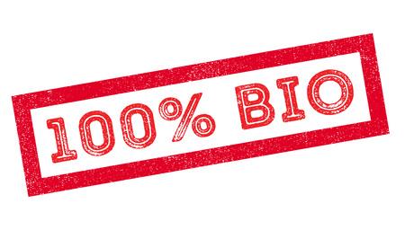 coarse: 100 percent bio rubber stamp on white. Print, impress, overprint.