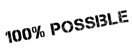 100 percent possible rubber stamp on white. Print, impress, overprint.