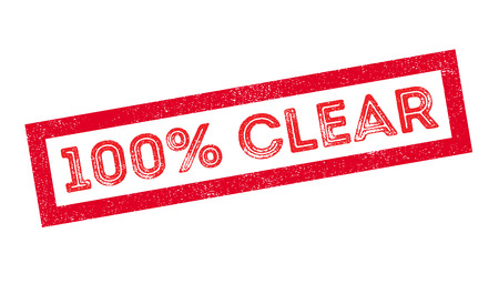 observable: 100 percent clear rubber stamp on white. Print, impress, overprint. Illustration