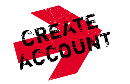 computation: Create account stamp. Grunge design with dust scratches. Effects can be easily removed for a clean, crisp look. Color is easily changed.