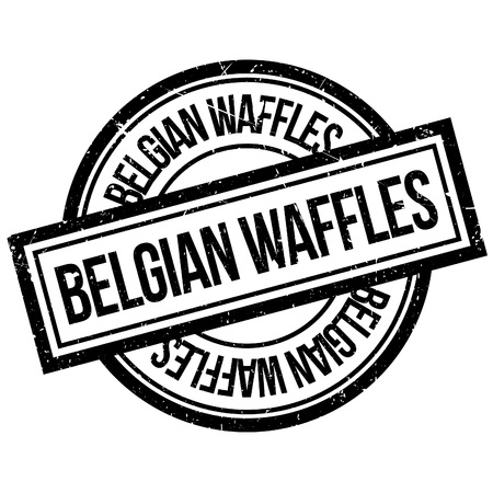 made to order: Belgian Waffles rubber stamp. Grunge design with dust scratches. Effects can be easily removed for a clean, crisp look. Color is easily changed.