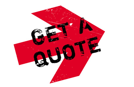 Get a quote stamp. Grunge design with dust scratches. Effects can be easily removed for a clean, crisp look. Color is easily changed.