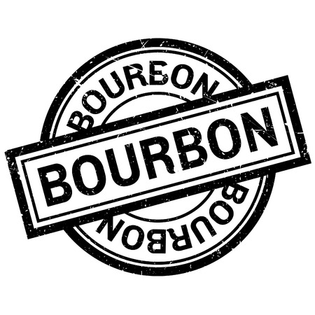 bourbon: Bourbon rubber stamp. Grunge design with dust scratches. Effects can be easily removed for a clean, crisp look. Color is easily changed.