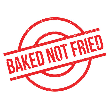can not: Baked Not Fried rubber stamp. Grunge design with dust scratches. Effects can be easily removed for a clean, crisp look. Color is easily changed.