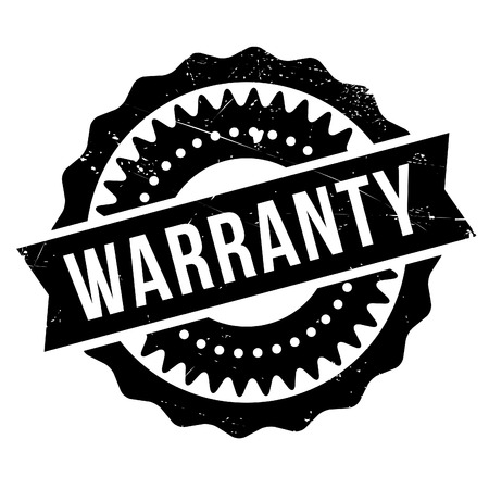 assertion: Warranty stamp. Grunge design with dust scratches. Effects can be easily removed for a clean, crisp look. Color is easily changed. Illustration
