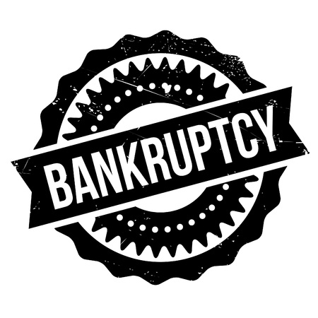 inability: Bankruptcy stamp. Grunge design with dust scratches. Effects can be easily removed for a clean, crisp look. Color is easily changed.