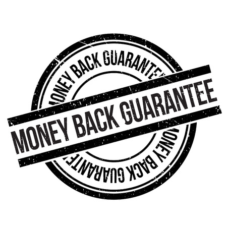 assure: Money back guarantee stamp. Grunge design with dust scratches. Effects can be easily removed for a clean, crisp look. Color is easily changed.