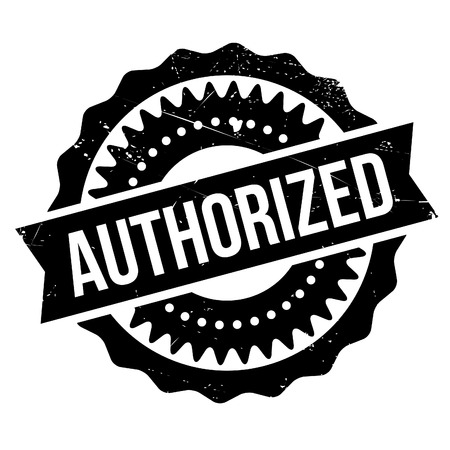 commissioned: Authorized stamp. Grunge design with dust scratches. Effects can be easily removed for a clean, crisp look. Color is easily changed. Illustration