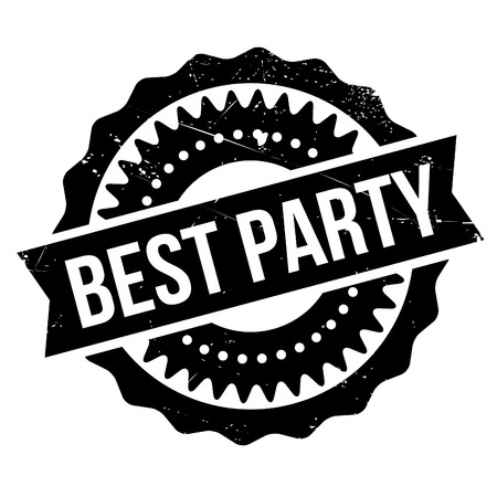 inimitable: Best party stamp. Grunge design with dust scratches. Effects can be easily removed for a clean, crisp look. Color is easily changed.
