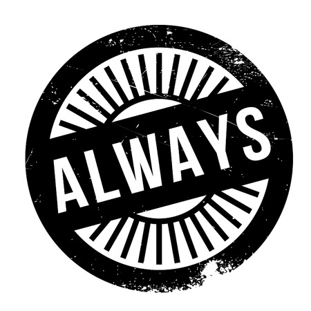 wherever: Always stamp. Grunge design with dust scratches. Effects can be easily removed for a clean, crisp look. Color is easily changed.