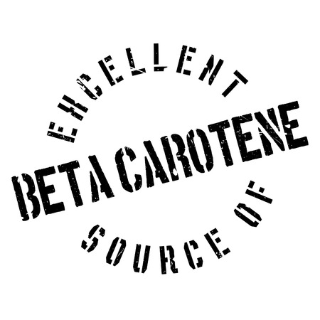 advertize: Excellent source of beta carotene stamp. Grunge design with dust scratches. Effects can be easily removed for a clean, crisp look. Color is easily changed.
