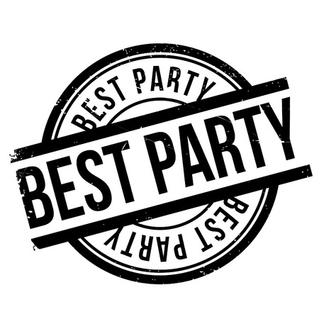 optimum: Best party stamp. Grunge design with dust scratches. Effects can be easily removed for a clean, crisp look. Color is easily changed.