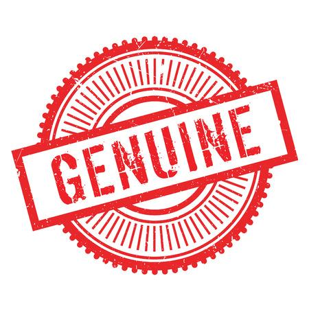 sello genuino. Diseño de Grunge con los rasguños polvo. Los efectos se pueden quitar fácilmente para una apariencia limpia y nítida. En color se cambia fácilmente.