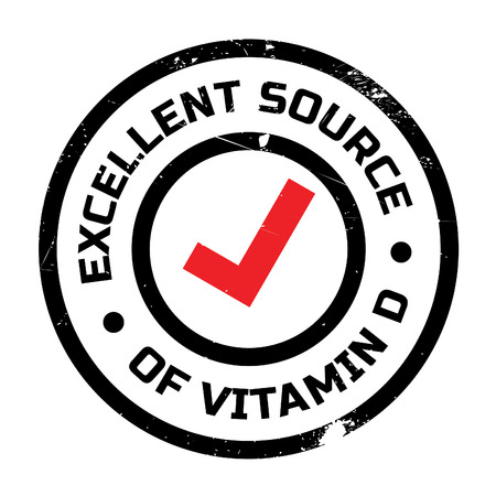 d mark: Excellent source of vitamin D stamp. Grunge design with dust scratches. Effects can be easily removed for a clean, crisp look. Color is easily changed.
