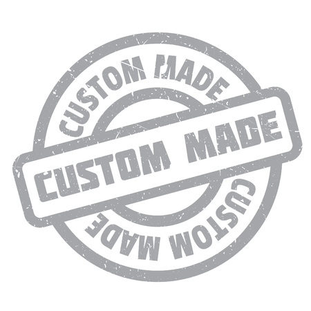 specially: Custom Made rubber stamp. Grunge design with dust scratches. Effects can be easily removed for a clean, crisp look. Color is easily changed. Illustration