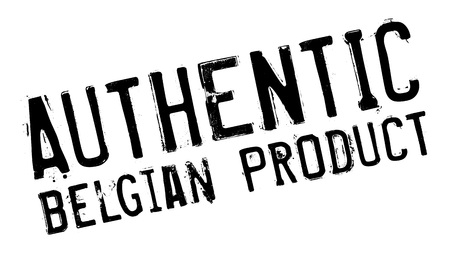 made in belgium: Authentic belgian product stamp. Grunge design with dust scratches. Effects can be easily removed for a clean, crisp look. Color is easily changed. Illustration