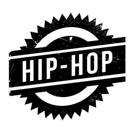 hiphop: Famous dance style, Hip-Hop stamp. Grunge design with dust scratches. Effects can be easily removed for a clean, crisp look. Color is easily changed. Illustration
