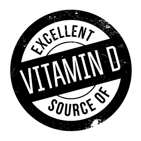 advertize: Excellent source of vitamin D stamp. Grunge design with dust scratches. Effects can be easily removed for a clean, crisp look. Color is easily changed.