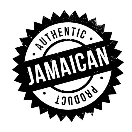 jamaican: Authentic jamaican product stamp. Grunge design with dust scratches. Effects can be easily removed for a clean, crisp look. Color is easily changed.