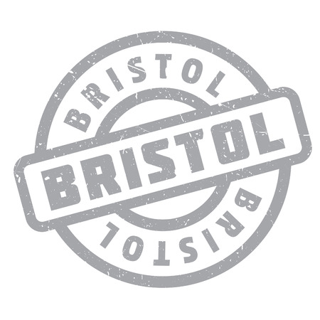 bristol: Bristol rubber stamp. Grunge design with dust scratches. Effects can be easily removed for a clean, crisp look. Color is easily changed. Illustration