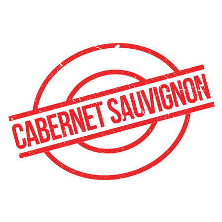 sauvignon: Cabernet Sauvignon rubber stamp. Grunge design with dust scratches. Effects can be easily removed for a clean, crisp look. Color is easily changed.