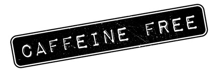 caffeine free: Caffeine Free rubber stamp. Grunge design with dust scratches. Effects can be easily removed for a clean, crisp look. Color is easily changed.