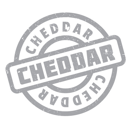 cheddar: Cheddar rubber stamp. Grunge design with dust scratches. Effects can be easily removed for a clean, crisp look. Color is easily changed.