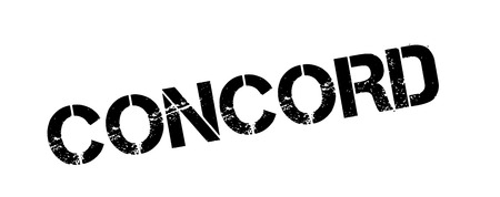 denver: Concord rubber stamp. Grunge design with dust scratches. Effects can be easily removed for a clean, crisp look. Color is easily changed.