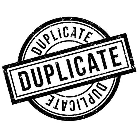 reproduce: Duplicate rubber stamp. Grunge design with dust scratches. Effects can be easily removed for a clean, crisp look. Color is easily changed.