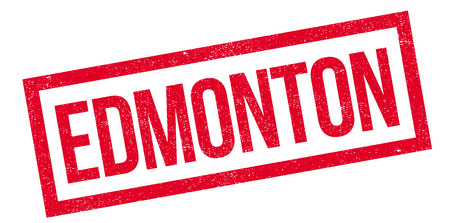 edmonton: Edmonton rubber stamp. Grunge design with dust scratches. Effects can be easily removed for a clean, crisp look. Color is easily changed. Illustration