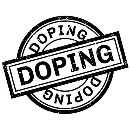 uppers: Doping rubber stamp. Grunge design with dust scratches. Effects can be easily removed for a clean, crisp look. Color is easily changed.