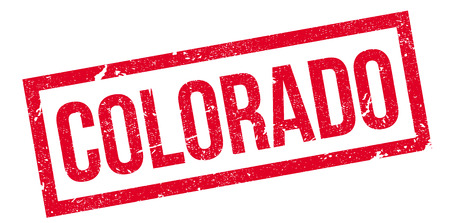colorado springs: Colorado rubber stamp. Grunge design with dust scratches. Effects can be easily removed for a clean, crisp look. Color is easily changed. Illustration