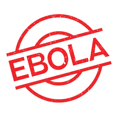 Ebola rubber stamp. Grunge design with dust scratches. Effects can be easily removed for a clean, crisp look. Color is easily changed.
