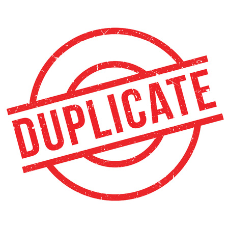 counterfeit: Duplicate rubber stamp. Grunge design with dust scratches. Effects can be easily removed for a clean, crisp look. Color is easily changed.