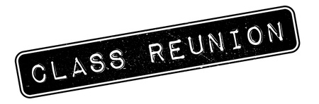 commencement: Class Reunion rubber stamp. Grunge design with dust scratches. Effects can be easily removed for a clean, crisp look. Color is easily changed.