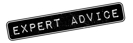 adept: Expert Advice rubber stamp. Grunge design with dust scratches. Effects can be easily removed for a clean, crisp look. Color is easily changed.