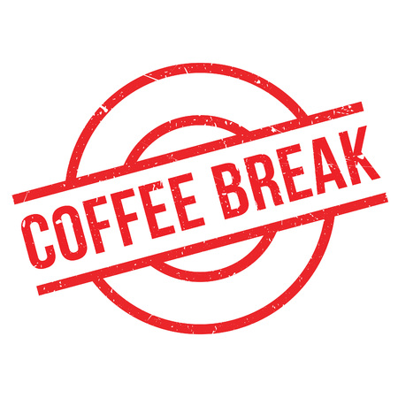 decaf: Coffee Break rubber stamp. Grunge design with dust scratches. Effects can be easily removed for a clean, crisp look. Color is easily changed.
