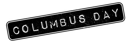 admiral: Columbus Day rubber stamp. Grunge design with dust scratches. Effects can be easily removed for a clean, crisp look. Color is easily changed.