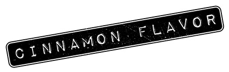 certify: Cinnamon Flavor rubber stamp. Grunge design with dust scratches. Effects can be easily removed for a clean, crisp look. Color is easily changed.