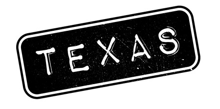 imprinted: Texas rubber stamp. Grunge design with dust scratches. Effects can be easily removed for a clean, crisp look. Color is easily changed.