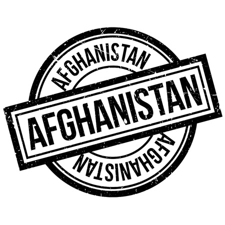 Afghanistan rubber stamp. Grunge design with dust scratches. Effects can be easily removed for a clean, crisp look. Color is easily changed.